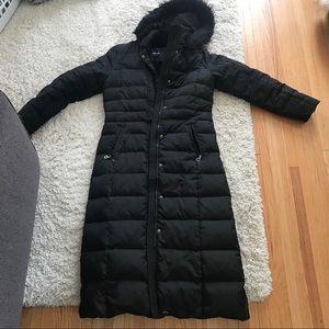 Extra long DKNY down coat